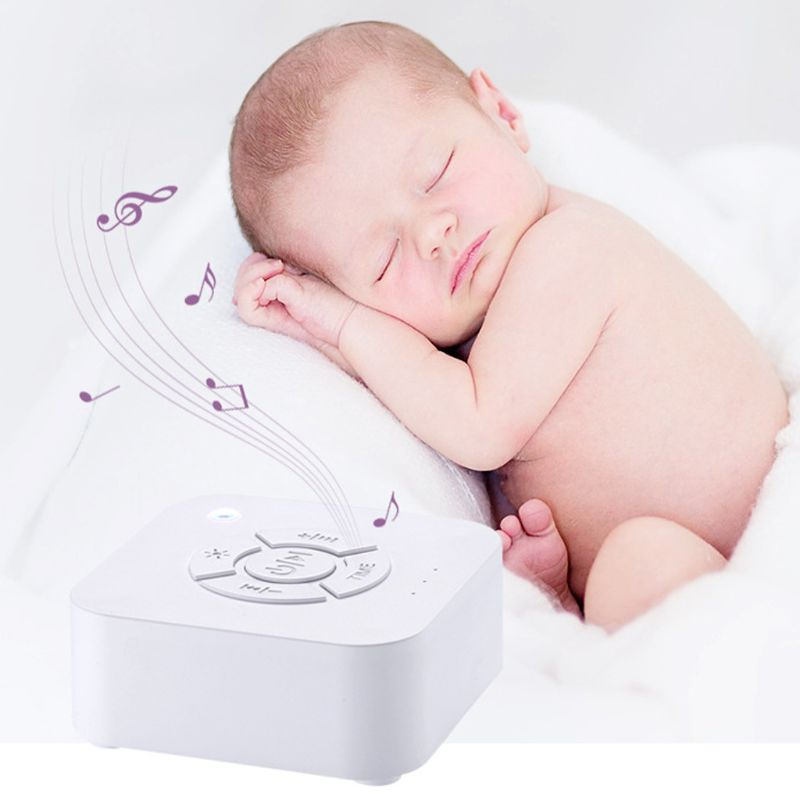 USB Rechargeable White Noise Machine Timed Shutdown Sleep Sound Machine For Baby Adult Sleeping & Relaxation