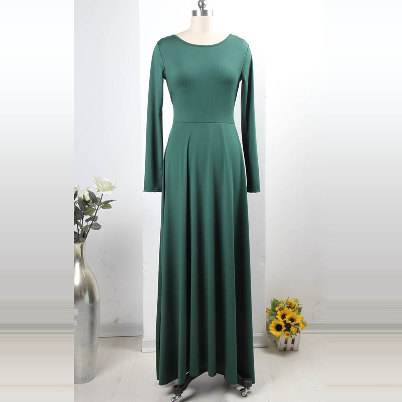 R70343 Fashion 2016 New Style Plus Size Dresses High Quality Floor