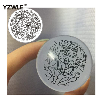 fashion simple operation nail art image stamping template plate for girl manicure image