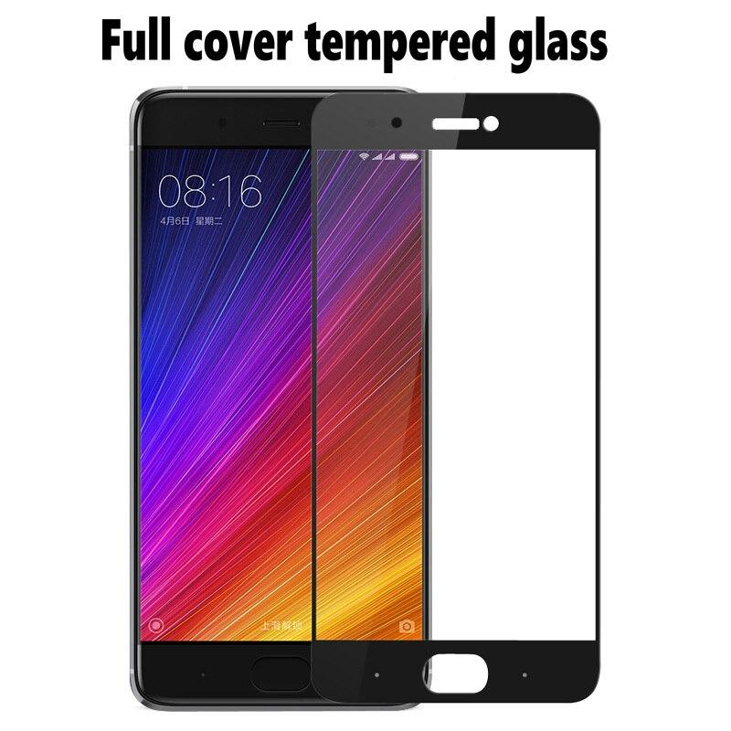 e57b86dc56d For Xiaomi Mi5s Plus Tempered Glass Front Full Cover Screen Protector Slim  Armor Film Black Gold White For Xiaomi Mi5 s Mi 5 5s