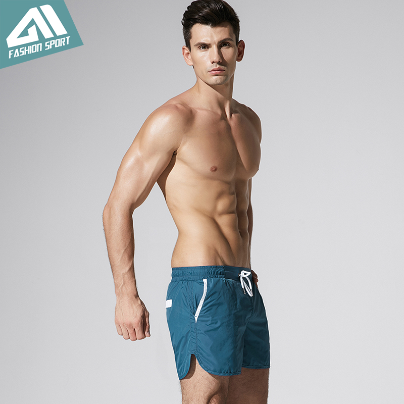 surf praia banho curto masculino atlético correndo ginásio curto dt81