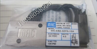 New and original America MAC solenoid valve 44C-ABA-GDFA-1GA mac high speed solenoid valve 34b aba gdfa 1ka