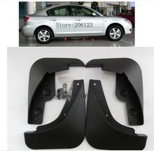 Для 2004 2005 2006 Mazda 3 Я седан предварительно подтяжку лица Брызговики Брызговик Брызговики Fender спереди и сзади автомобиля брызговики