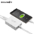 Blitzwolf certificada bw-s7 qc3.0 40 w smart 5-ports de carga rápida de alta velocidade desktop telefone celular adaptador de carregador usb para smartphone