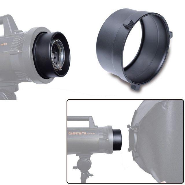 Adaptador de anillo Speedring de montaje Universal para Flash estroboscópico