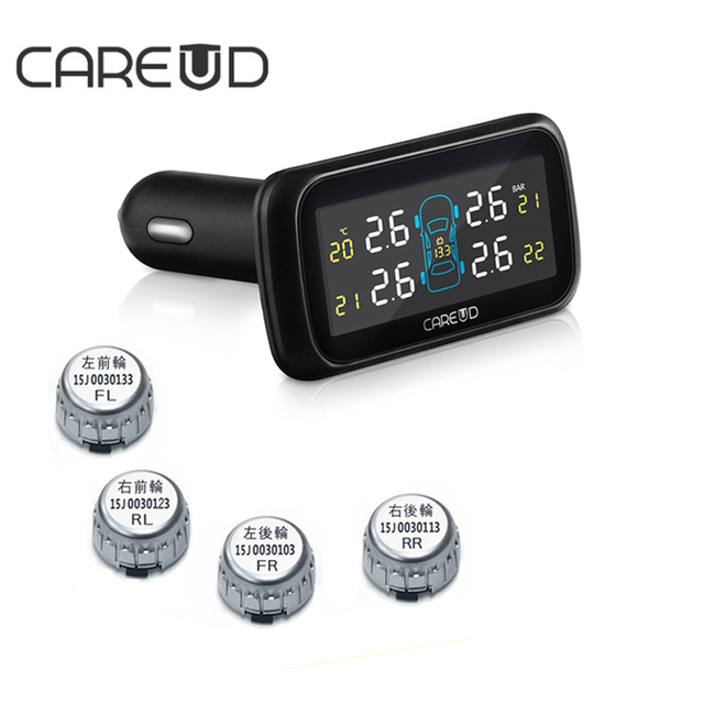 CAREUD TPMS U903 Wireless Tire Pressure Monitoring System 4 Mini