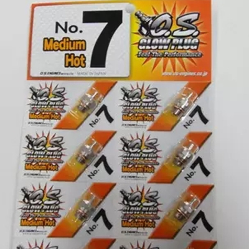 <font><b>OS</b></font> NO.7 O.S. Medium Plug N Glow Plugs No7 For <font><b>OS</b></font> Engine image