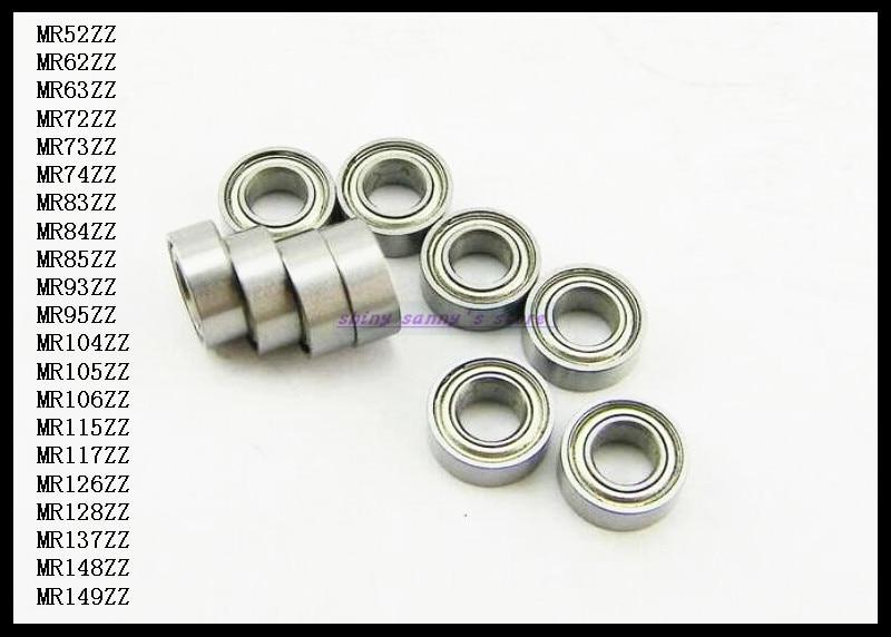 20pcs/Lot MR74ZZ  MR74 ZZ 4x7x2.5mm Thin Wall Deep Groove Ball Bearing Mini Ball Bearing Miniature Bearing Brand New 20pcs lot mr126zz mr126 zz 6x12x4mm thin wall deep groove ball bearing mini ball bearing miniature bearing