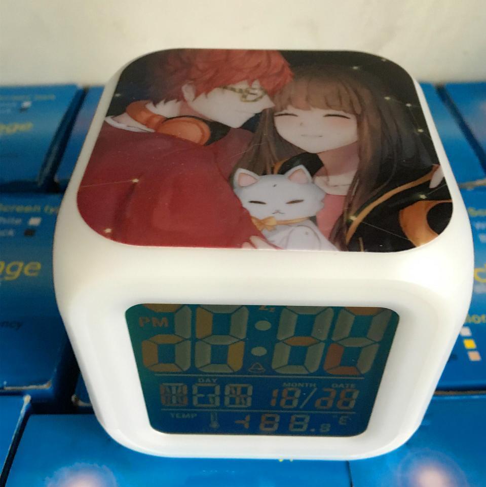 Spiel Mystic Messenger 707 Luciel Choi sieben farbwechsel Digitale ...