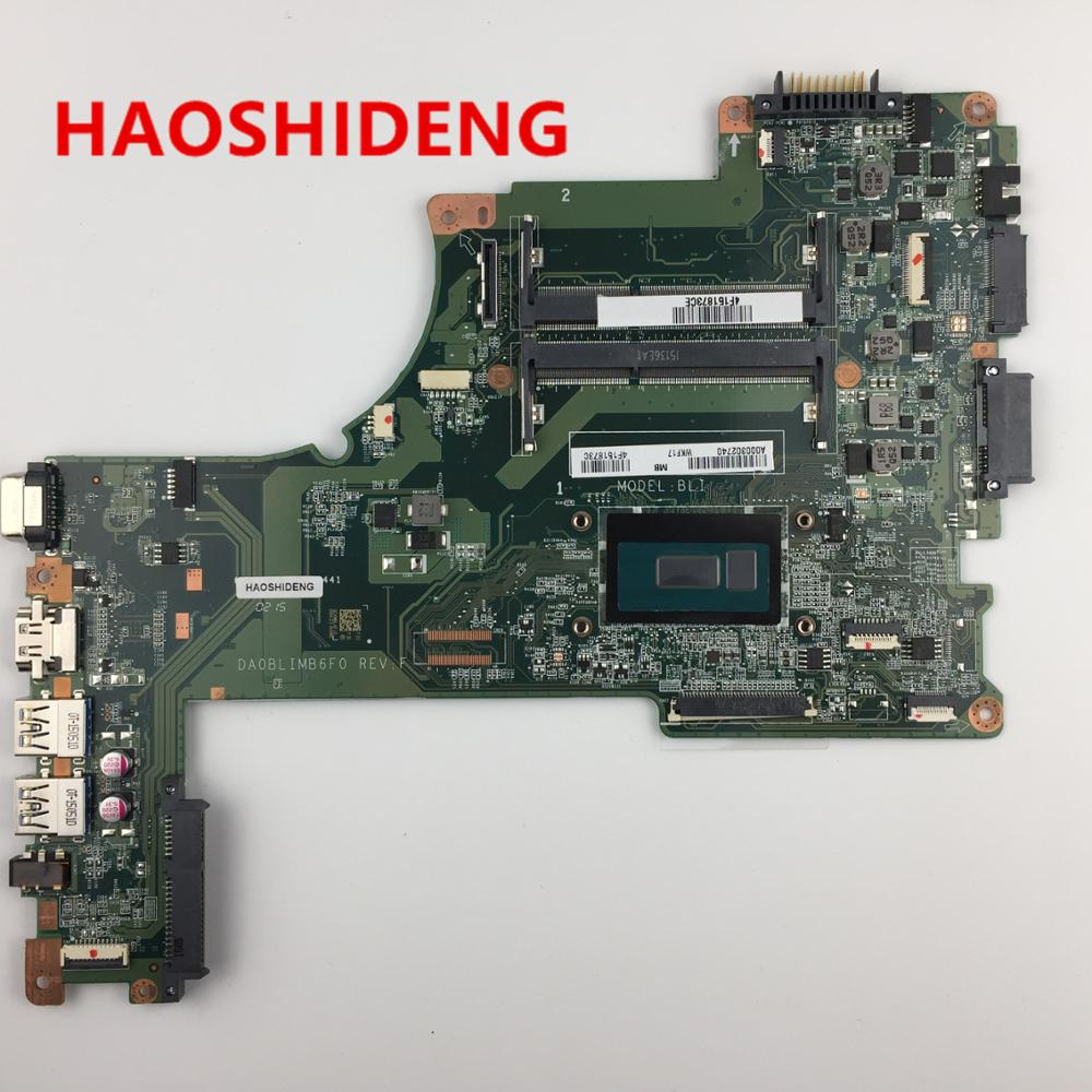 A000302740 DA0BLIMB6F0 for TOSHIBA Satellite S50 L50-B L50T-B series motherboard with i5-5200U,All functions fully Tested! h000072350 for toshiba satellite s50 s55 s50t a series motherboard pga 947 all functions fully tested