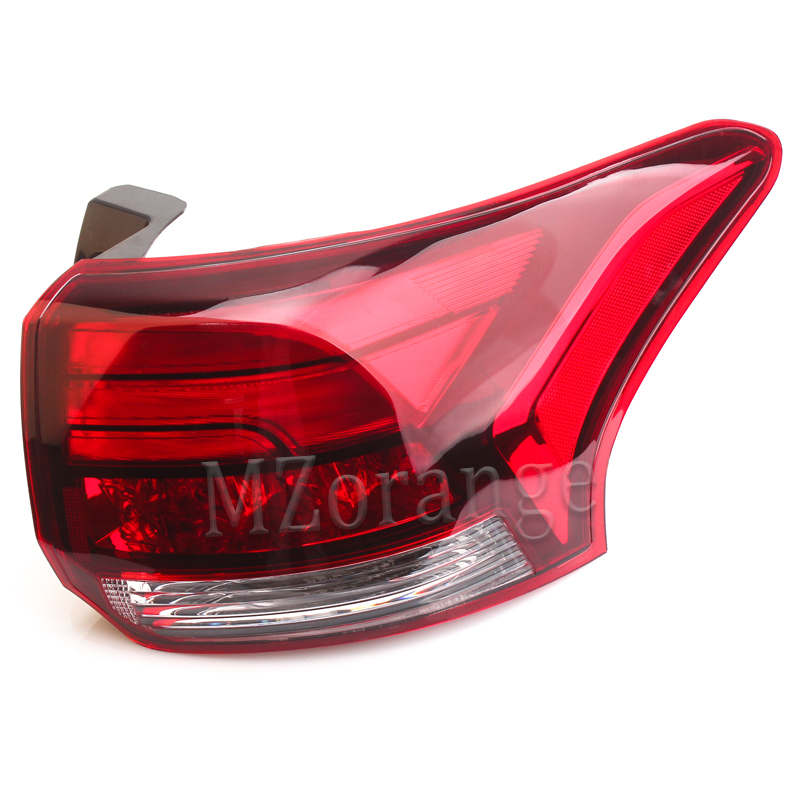 Rear Tail Light Assembly for Mitsubishi Outlander 2016 2017 Outer Left Right Side Car accessories Lamp Reflector Fast Shipping mzorange1pcs driver side lh 8330a787 tail light taillamp rear lamp light for mitsubishi outlander 2013 2015