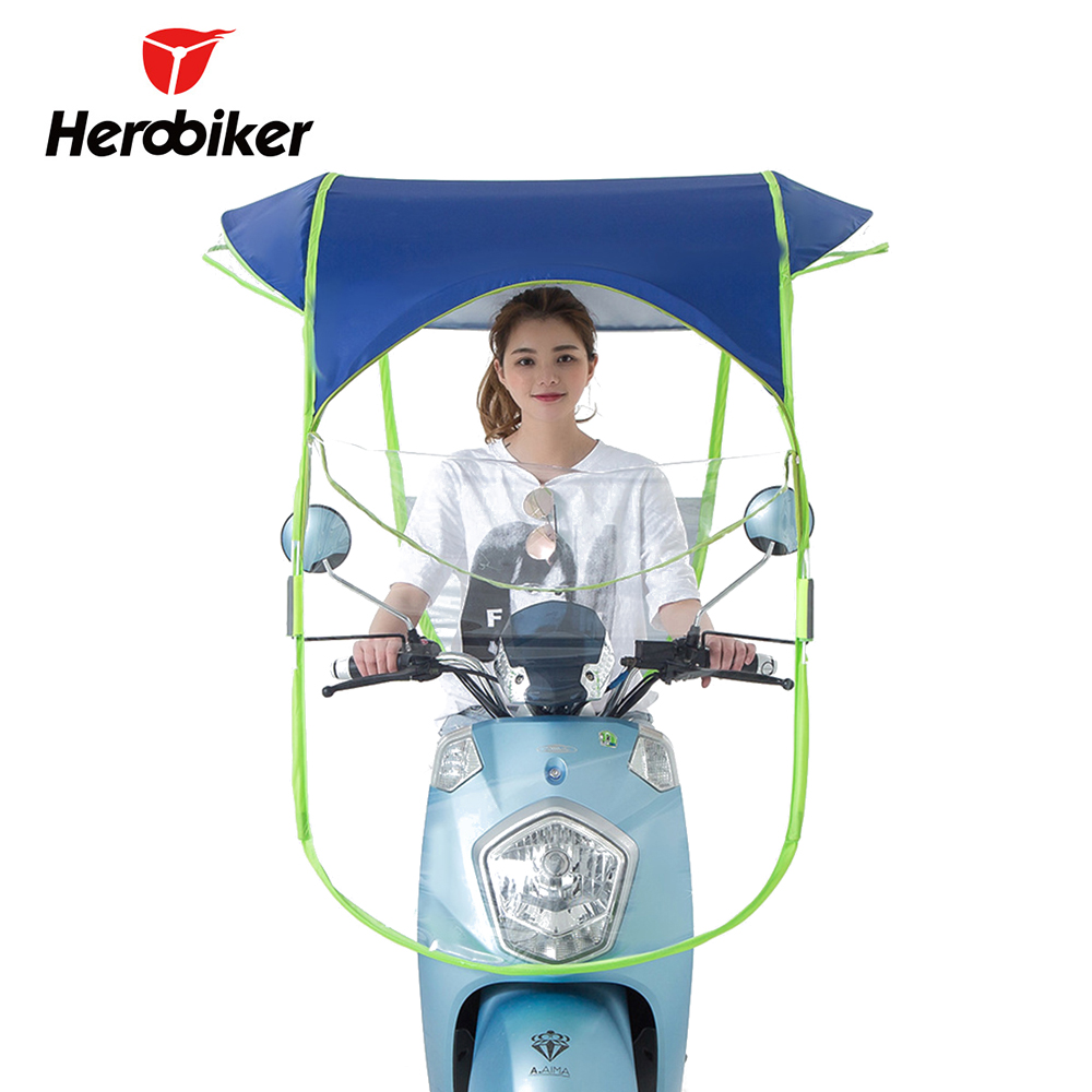Electric Umbrella Motorcycle Canopy Motorbike Roof Motor Sun Visor Shade Tent Umbrella Windshield Motorcycle Cover Housse Moto-in Motocycle Covers from ...  sc 1 st  AliExpress.com & Electric Umbrella Motorcycle Canopy Motorbike Roof Motor Sun Visor ...