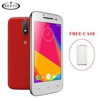 Originais Do Telefone 4.5 de polegada Android 6.0 Spreadtrum7731C Quad Core Câmera 5.0MP ROM 4G Dual Sim smartphone GSM WCDMA celular telefones