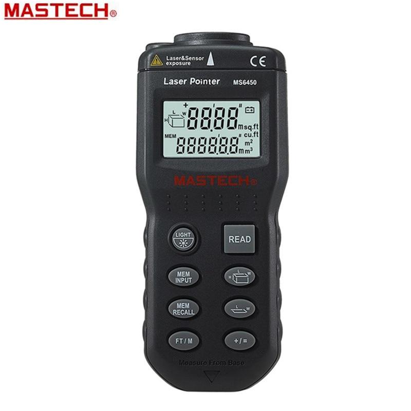 15M Ultrasonic Laser Range Finder Distance Meter Length Area Volume Measurer Measuring Tools  цены