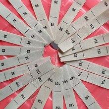 100 шт. бежевая хлопковая лента из ткани с принтом в виде цифр размер этикетки для одежды 50 56-62 68 74 80 86 92 98 128 134 140 146 152 158 164 170