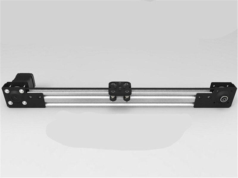 Funssor 250mm/300mm/500mm/1000mm length V-Slot  Mini V Linear Actuator NEMA 17 motor 2040 v-slot  for CNC 3D printer