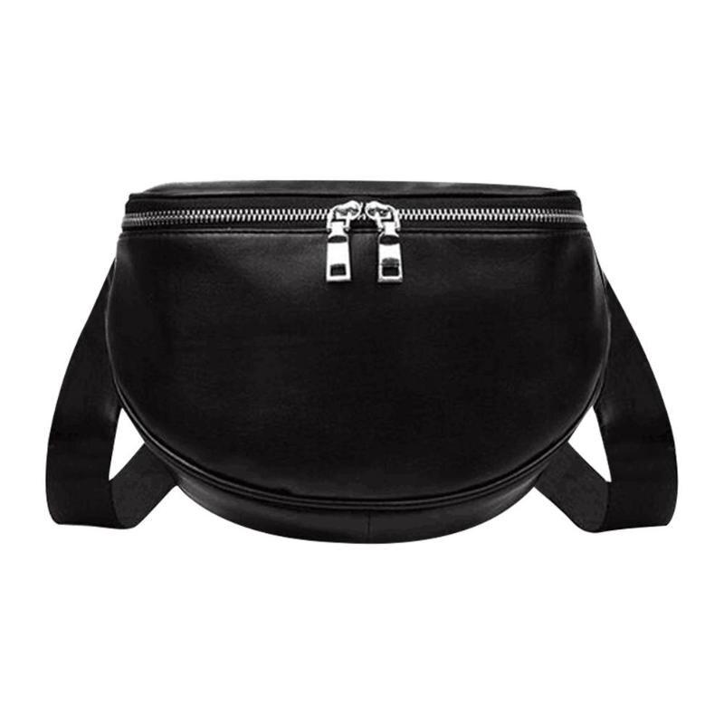 Solid Color Shoulder Bag For Women Messenger Handbags Leather Crossbody Chest Bags Sac A Dos Bolsas Feminina Mujer Sac A Main