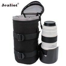 Jealiot универсальная водостойкая Защитная сумка для объектива камеры сумка Цифровой рюкзак для гарнитуры чехол для Canon Nikon sony