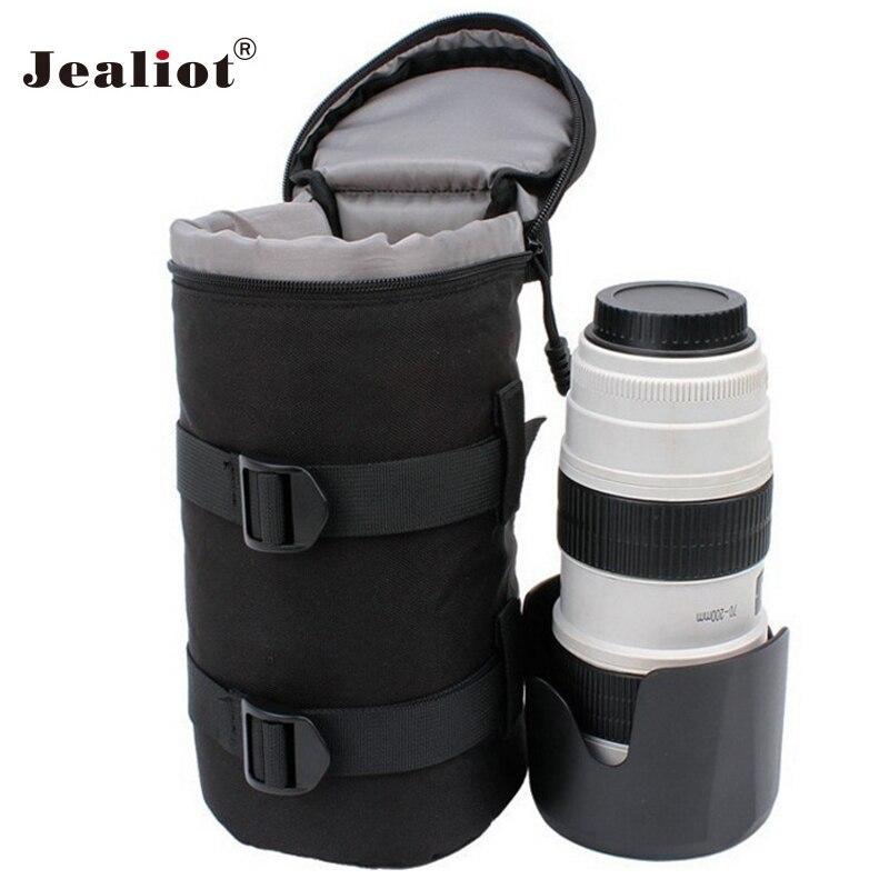 Jealiot Universelle Étanche sac De Protection pour la Lentille de la Caméra Sac numérique DSLR caméra Housse Etui Pour Canon Nikon sony