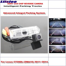 Liislee HD CCD SONY Rear Camera For Lexus CT200h (ZWA10) 2011~2014 Intelligent Parking Tracks Reverse Backup / NTSC RCA AUX