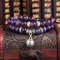 The Qixi Festival dream Amethyst Bracelet pure natural amethyst Brazil Donghai crystal factory direct wholesale cheap