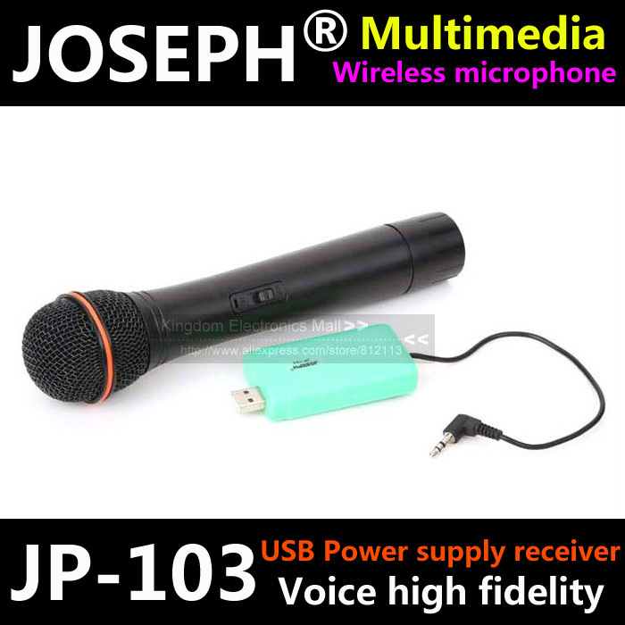 12 Month Warranty High Fidelity Usb Wireless Microphone