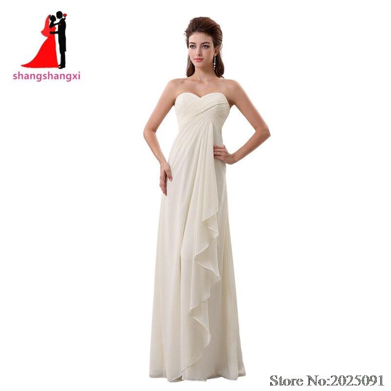 2017 New Ivory Beach font b Wedding b font Dresses 2017 Chiffon Plus Size font b