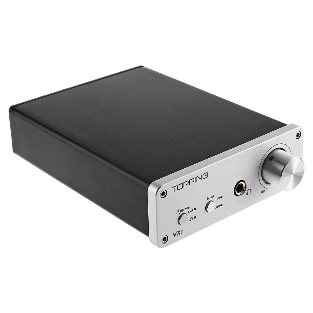 Original Topping VX1 2*25W T-AMP Tripath Stereo HiFi Power Subwoofer Amplifier USB DAC 24Bit/96KHz Digital Amplifier amp Black радиоприемник 25 hifi 25w