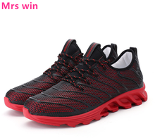 Men Outdoor Running Shoes Classic Sneakers Camping Spring Warrior Wear-resistant Anti-skid Shock Absorption Sport Shoes