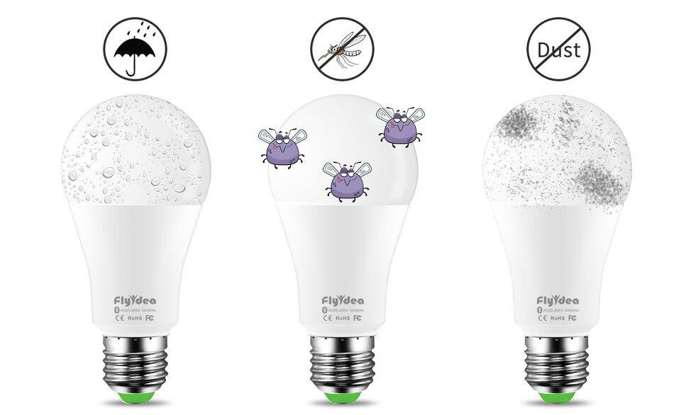 Novo sem fio bluetooth 4.0 inteligente luz