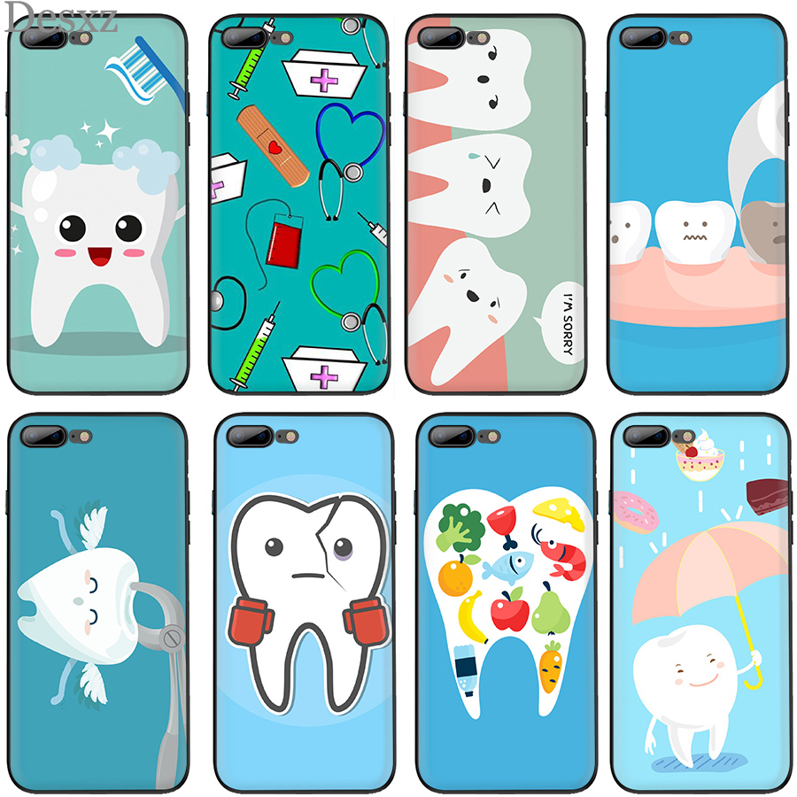 Desxz Nurse Doctor Dentist Stethoscope Tooth Injections Case For Meizu M3 M3s Mini M5 M5c M5s M6 M6s Note Protection Cover In Many Styles Half-wrapped Case Cellphones & Telecommunications