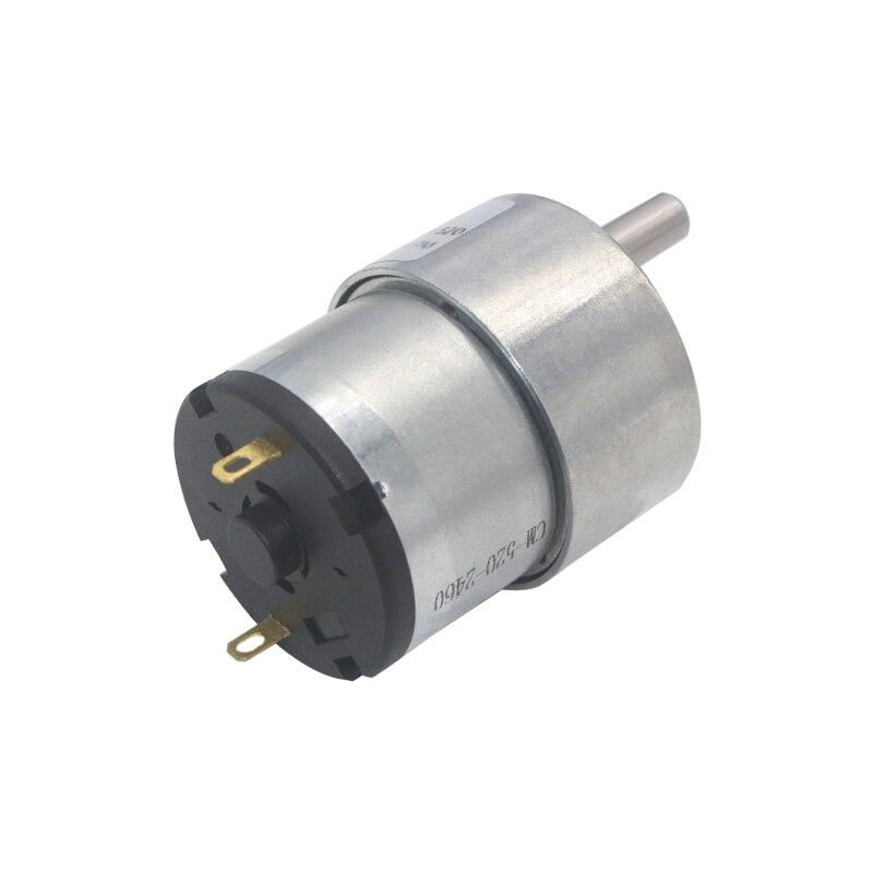 37mm Diameter Gearbox Eccentric Shaft Gear Motor 12v 24v DC Geared Motors  Electric lock Autonatic Dustbin Valve Gear Motors