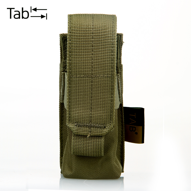 Outdoor Nylon Molle TAB LED Flashlight Bags Torch Cover Waist Packs Army Military Tools Case Pouch Black Tan Coyote - Guangdong Items Exporting Co., Ltd. store