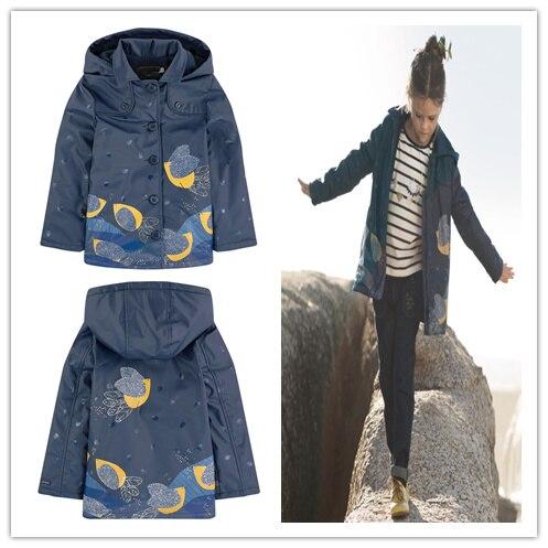 2017 filles veste manteau bleu manteaux pour adolescentes Parkas pour fille2017 filles veste manteau bleu manteaux pour adolescentes Parkas pour fille