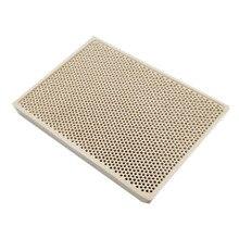Earth Star Cordierite Ceramic Burner High Temperature Plate Gas Grill Spare Parts Stove heater Comb 132*92*14mm