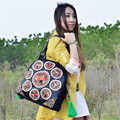 2017 Fashion Lady Handbag Ethnic Wind Embroidery Handbag Brand Tassel Beaded Women Single Shoulder Bag Vintage Female Bag B323