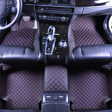 купить Custom fit car floor mats for Toyota Camry 40 Corolla RAV4 Verso FJ Land Cruiser LC 200 Prado 150 120 3D car-styling carpet по цене 6698.6 рублей