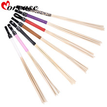 Morease 8 head Rattan Canes Whip Rods Spanking Paddle Sex Toys Spank Flogger Bondage Fetish Slave Knout Bdsm Erotic For Couples