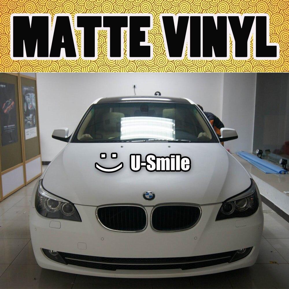 Vinyl Car Wrap Matte White Vinyl Film Matte White Vinyl Car Film Air FreeFor Car Wrapping Car Graphic Size:1.52M*30m/Roll виниловые пластинки trust ideal white vinyl