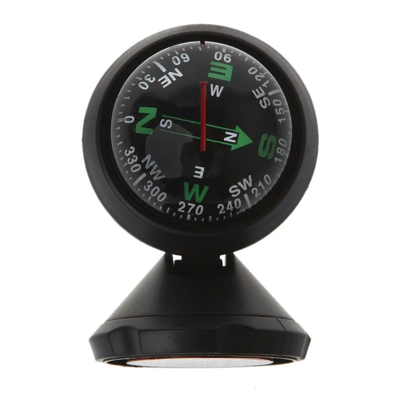 Мини автомобильный компас Гибкая навигационная приборная панель Авто шариковая чашка автомобильный клей