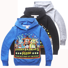 Hot Sale Five Nights at Freddys clothes Cartoon Hoodies Kids Sweatshirts Children Five Nights at Freddys clothing for boys