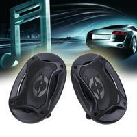 VODOOL 2pcs 4 X 6inch 2 Way Coaxial Car Universal Speakers Audio Refitting Speaker Vehicle Door