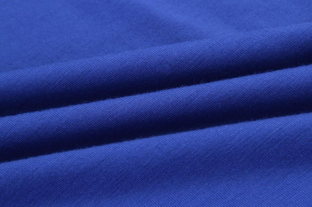 19 New Summer Fashion Women Casual Short Sleeve O-Neck Straight Black Gray Blue Dress Loose Plus Size Pocket Cotton Midi Dress 17