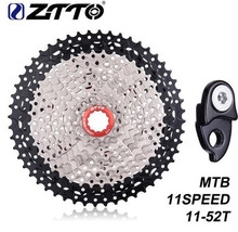 ZTTO Bike Freewheel MTB 11Speed Cassette 11s 11 - 52T Wide Ratio Mountain Bicycle Parts for k7 X1 XO1 XX1 M9000