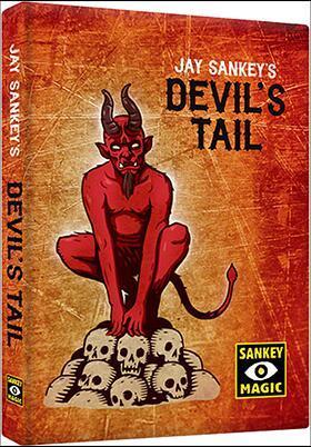 Devil's Tail by Jay S (All Gimmick+DVD) - Magic Trick,Close up Magic,Illusion,Fun,Street Magic,Mentalism,Classic Magia,Toys