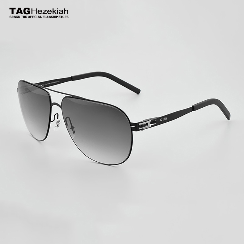Sunglasses Men Sunglasses Women Fashion Stainless Steel 2019 TAG Brand Screwless Eyewear Fashional Eyeglasses With Original Case