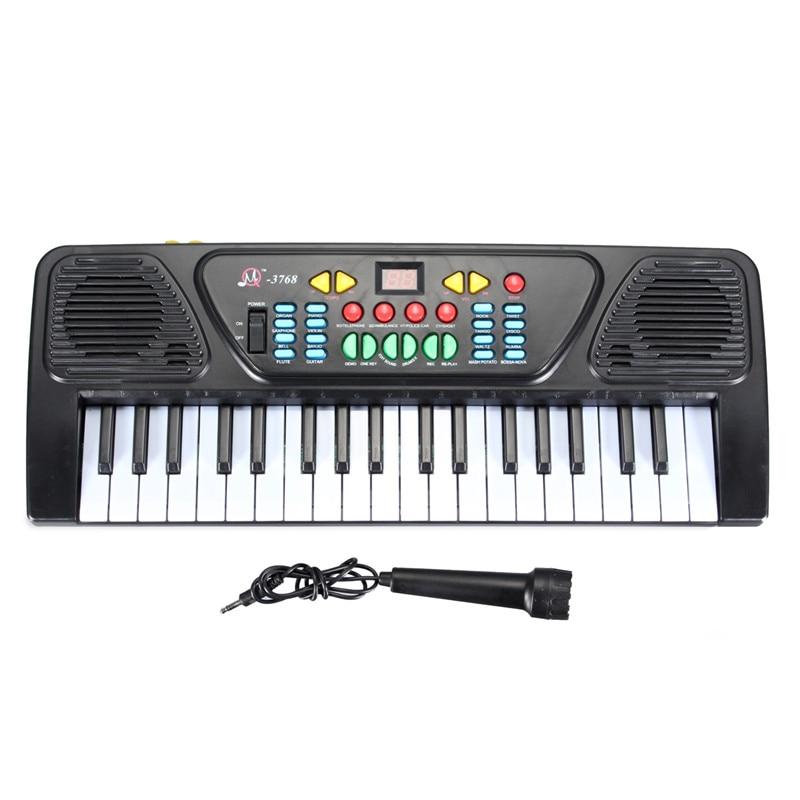 37 Tasten Orgel E-piano 425x160x50 MM Digitale Musik Elektronische Tastatur Musikinstrument Für Lernen