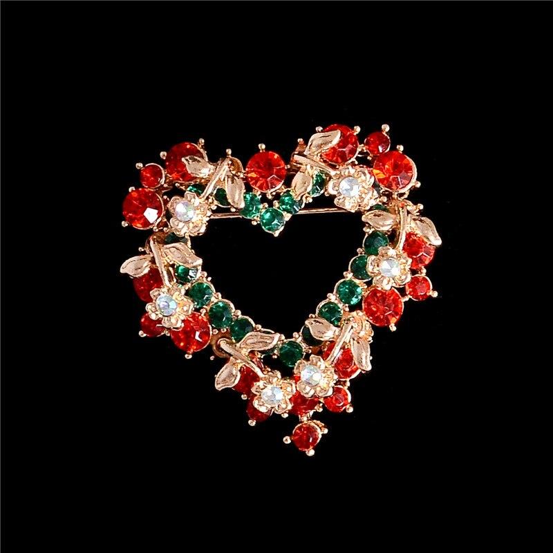 Fashion Hommes Femmes Rouge Fleur Vintage Usine Broche Pins Bijoux Accessoires Cadeau