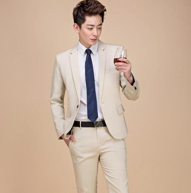 b0bda12c25d men wedding suits tidal current male 2 piece suit set clothes mens suits  slim for mens formal dress costume homme mariage 2019