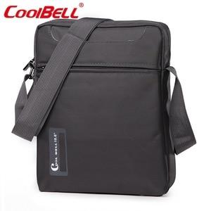 Image 4 - Kühlen Glocke 10 10,6 zoll Tablet Laptop Tasche für iPad 2/3 /4 iPad Air 2/3 Männer Schulter Laptop Messenger tasche Kleine Umhängetasche Tasche
